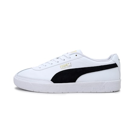 Oslo-City Unisex Sneakers, Puma White-Puma Black, small-IND