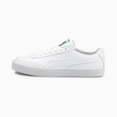 Oslo Vulc Trainers, Puma White-Puma White, small