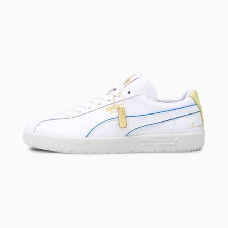 Baskets Delphin RudolfDassler Legacy Formstrip, P white-Yellow Pear-V Gray, small