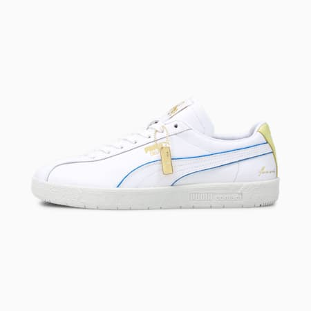 Delphin Rudolf Dassler Legacy Formstrip Trainers, P white-Yellow Pear-V Gray, small-GBR