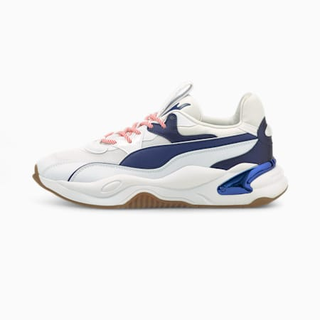 RS-2K X-Mas Edition Shoes, Puma White-Elektro Blue, small-IND