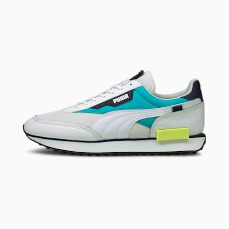 Future Rider Sprint Sneakers, Puma White-Scuba Blue, small
