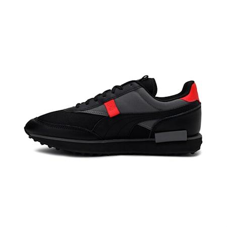 Future Rider Sprint Shoes, Puma Black-CASTLEROCK, small-IND