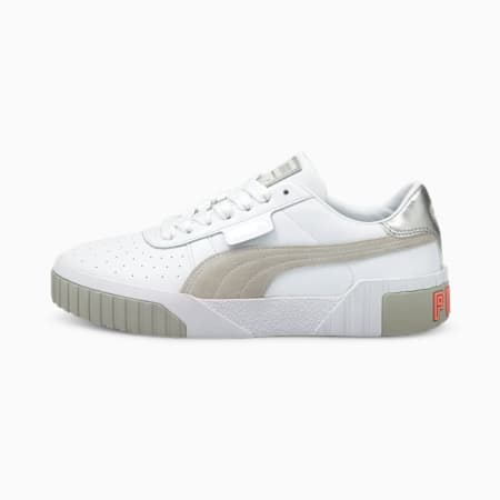 Cali Soft Glow Women's Sneakers, Puma White-Gray Violet, small-IND