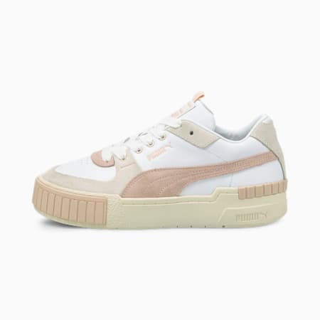 Zapatillas Cali Sport In Bloom para mujer, Puma White-Marshmallow, small