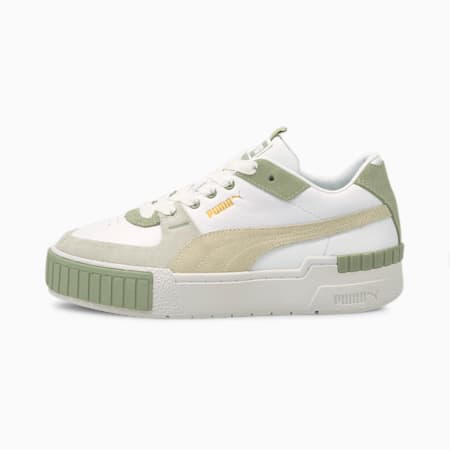 Cali Sport In Bloom Damen Sneaker, Puma White-Desert Sage, small