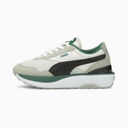Cruise Rider Classic Women's Trainers, Puma White-Gray Violet, small-GBR