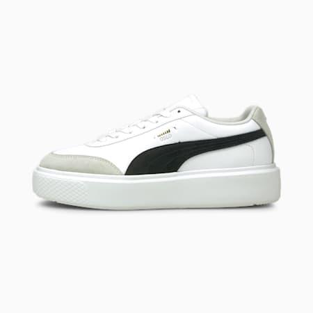 Zapatillas para mujer Oslo Maja Archive, Puma White-Puma Black, small