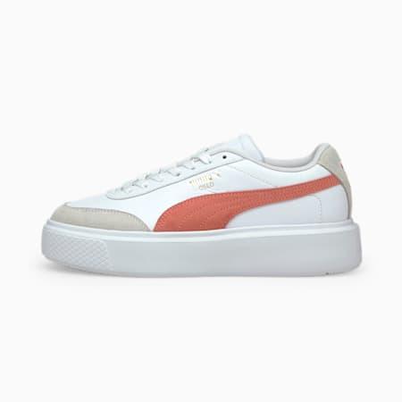 Zapatillas para mujer Oslo Maja Archive, Puma White-Elektro Peach, small