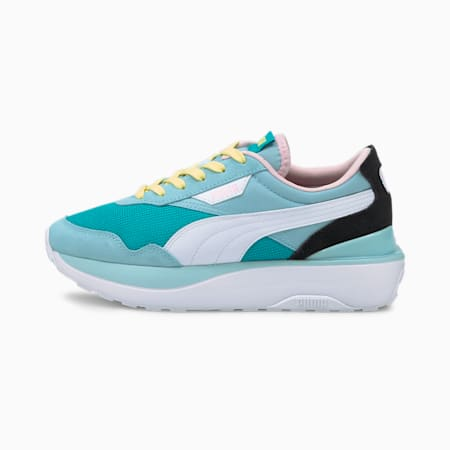 Cruise Rider sneakers dames, Viridian Green-Aquamarine, small