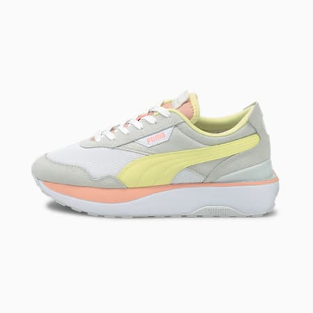 Cruise Rider Women's Shoes, Puma White-Nimbus Cloud, small-IND