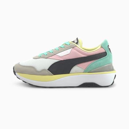 Cruise Rider Women's Sneakers, Puma White-Pink Lady, small-GBR