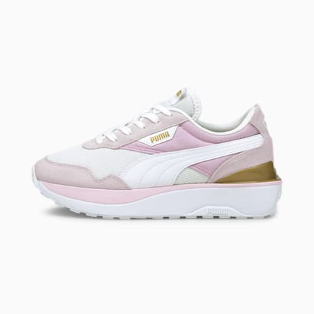 Cruise Rider Women's Sneakers, Pearl-Puma White-Pink Lady, small-GBR