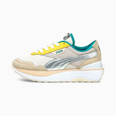 Cruise Rider Ocean Queen Women's Trainers, Eggnog-Puma Silver-Cld Pink, small-GBR