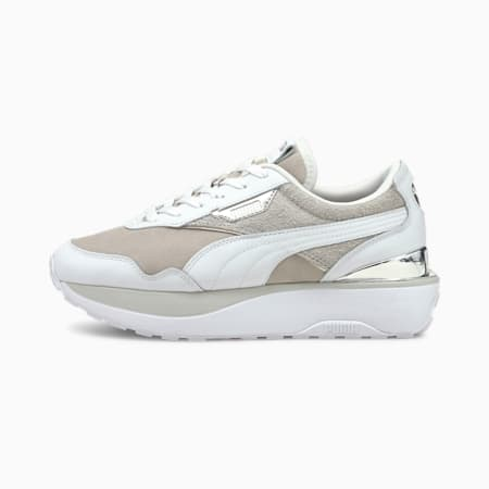 Cruise Rider 66 Women's Trainers, Gray Violet-Puma White, small-GBR