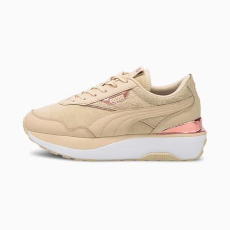 Cruise Rider 66 sneakers dames, Shifting Sand-Puma White, small