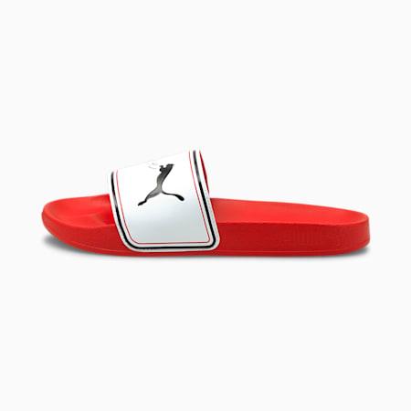 Leadcat FTR Valentine's Damen Sandalen, Poppy Red-Puma White, small