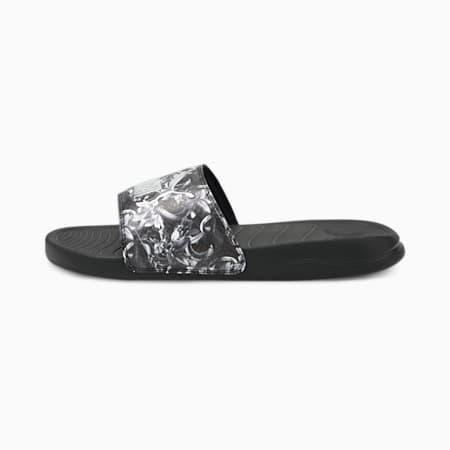 Popcat 20 UNTMD Women's Sandals, Puma Black-Puma Silver, small-SEA