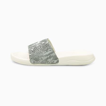 Popcat 20 Untamed Women's Sandals, Eggnog-Puma Black, small