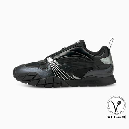 Zapatos deportivos Kyron Galactic para mujer, Puma Black-Puma Silver, pequeño
