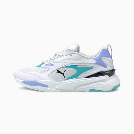 RS-Fast Pop Damen Sneaker, Puma White-Elektro Pool-El P, small
