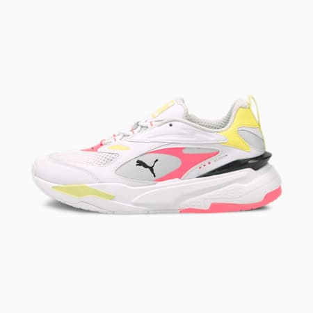 RS-Fast Pop sneakers dames, Puma Wht-Ign Pink-Soft F Ylw, small