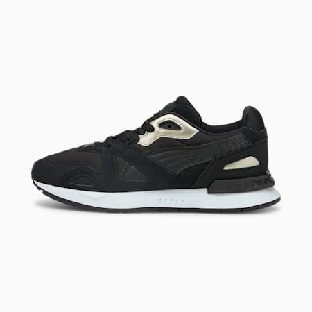 Damskie buty sportowe Mirage Mox Metallic, Puma Black-Puma Team Gold, small