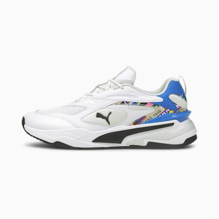 RS-Fast International Game Shoes, Puma White-Empire Yellow, small-IND
