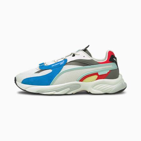 RS-Connect Lazer Trainers, Vaporous Gray-Nrgy Blue, small
