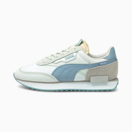 Future Rider Tones Women's Shoes, Puma White-Forever Blue, small-IND
