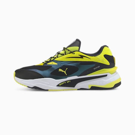 PUMA x emoji® RS-Fast Sneakers, Silver-Fluo Yellow- Black, small