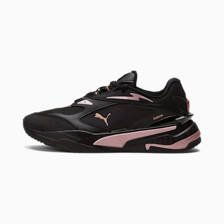 RS-Fast Royal Flame Women's Sneakers, Puma Black-Rose Gold, small