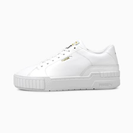 Scarpe da ginnastica Cali Sport Clean donna, Puma White-Puma White, small