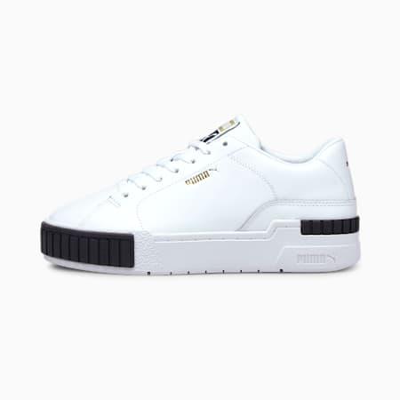 Scarpe da ginnastica Cali Sport Clean donna, Puma White-Puma Black, small