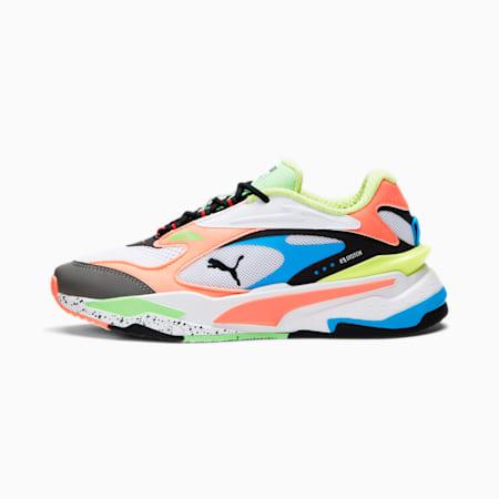 RS-Fast Sneakers JR, Puma White-Peach-Blue, small