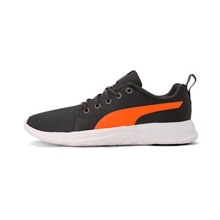 PUMA Dryflex IDP Men's Shoes, Dark Shadow-Jaffa Orange, small-IND