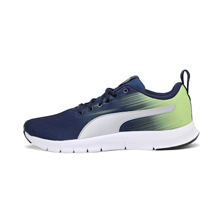 PUMA Level IDP Men's Running Shoes, Peacoat-Limepunch, small-IND