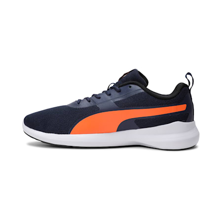 Pacer Styx IDP Men's Running Shoes, Peacoat-Vibrant Orange, small-IND