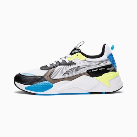 RS-X 8W Men's Sneakers, White-Puma Black-Nrgy Blue, small
