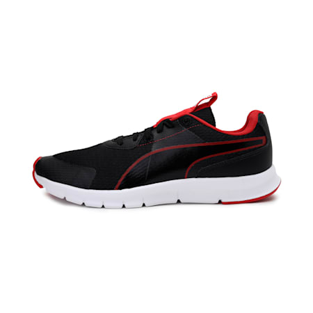 Flash IDP Unisex Shoes, Puma Black-High Risk Red, small-IND