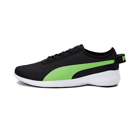 Pacer Gravity IDP Men's Shoes, Puma Black-Limepunch, small-IND