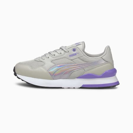 R78 FUTURE Iridescent Women's Shoes, Gray Violet-Elektro Purple, small-IND