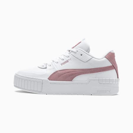 Cali Sport SD Women's Trainers, Puma White-Foxglove, small