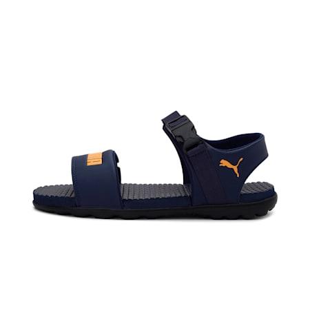 Zone Comfort IDP Men's Shoes, Peacoat-Saffron, small-IND