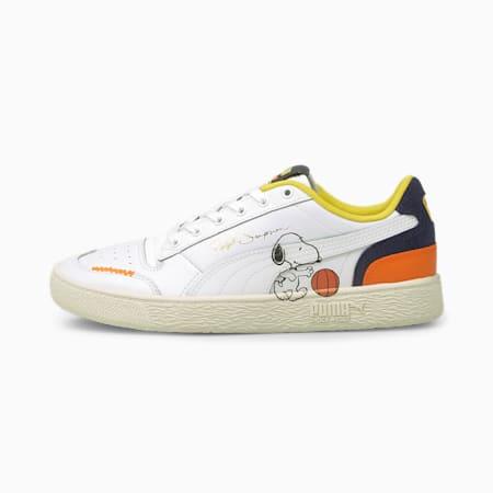 PUMA x PEANUTS Ralph Sampson Sneaker, Puma White-Peacoat, small
