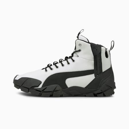 PUMA x NEMEN Centaur Mid Leather Shoes, Puma White-Puma Black, small-IND
