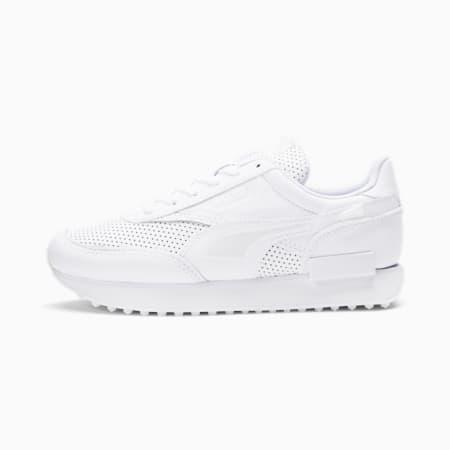 Future Rider White Ice Women's Sneakers, Puma White-Puma White, small