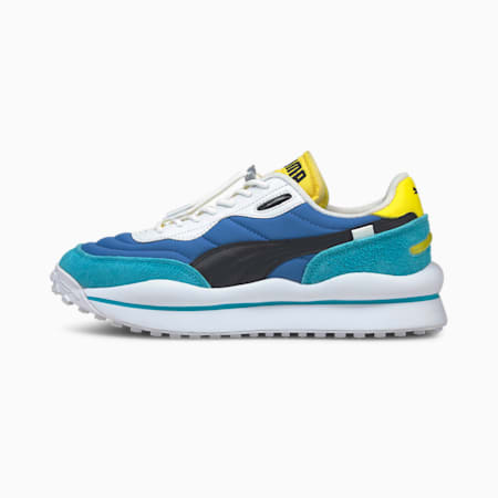 Style Rider BP Trainers, Star Sapphire-Scuba Blue, small