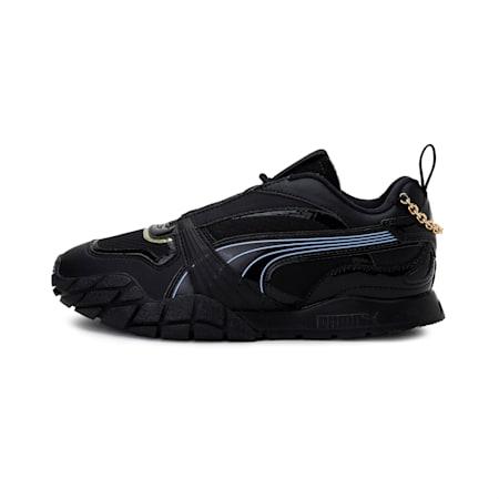 Kyron Dark Dream Women's Shoes, Puma Blk-Elek Purple-Nrgy Yl, small-IND