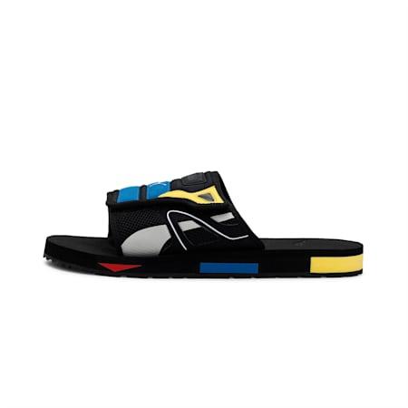 Mirage Mox Sandals, Puma Black-Poppy Red, small-IND